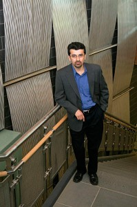 Mohammad Tehranipoor, assistant professor of electrical and computer engineering. Photo by Christopher LaRosa