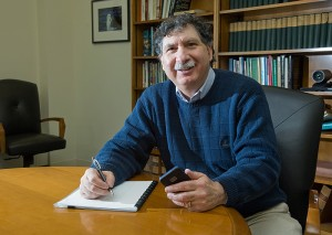 <p>Michael Braunstein, assistant director of the Actuarial Science Program. Photo by Daniel Buttrey</p>