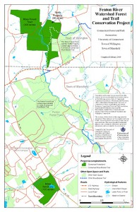 <p>The Fenton River Watershed Forest and Trail Conservation Project.</p>
