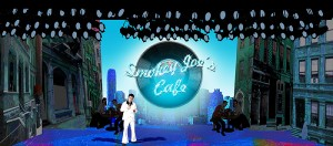 <p>Rendering of Smokey Joe's Cafe by scenic designer Michael Anania. Provided by CRT</p>