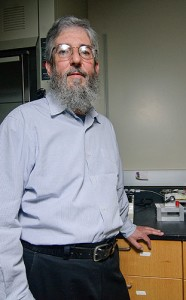 <p>James Rusling, professor of Chemistry. Photo by Jessica Tommaselli</p>