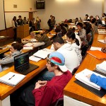 Students in class. (Lanny Nagler/UConn Today)