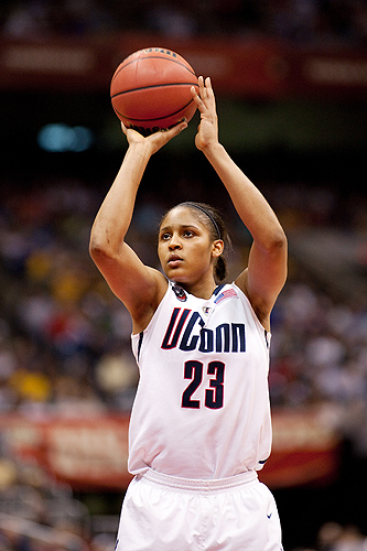 <p>Senior Maya Moore is the consensus Big East pre-season Player of the Year and a pre-season Wooden Award selection. Provided by Division of Athletics</p>