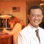 Dr. Bruce Liang, dean of the School of Medicine. (Peter Morenus/UConn Photo)