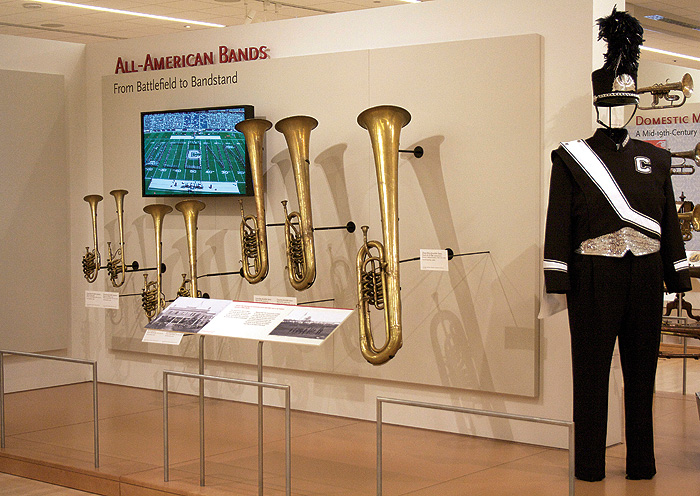 <p>All American Bands. Collection of museum</p>