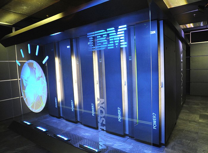 <p>Watson, powered by IBM POWER7, is a work-load optimized system that can answer questions posed in natural language over a nearly unlimited range of knowledge. Photo provided by IBM Watson</p>