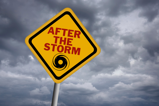 After the Storm Sign