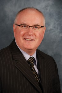 Dr. R. Lamont MacNeil, dean of the School of Dental Medicine