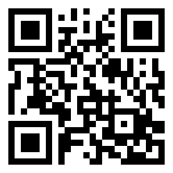 The QR code for the Storrs campus mobile map.