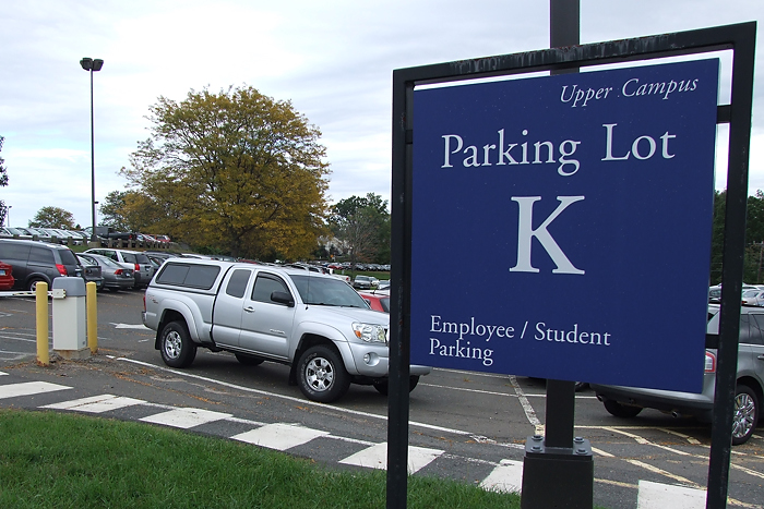 Student only parking highlights changes at health center