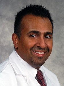 Dr. Omar Ibrahimi, Dermatology. (Janine Gelineau/UConn Health Center Photo)