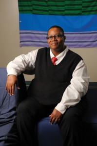 Fleurette King, director of the Rainbow Center on September 15, 2011. (Peter Morenus/UConn Photo)