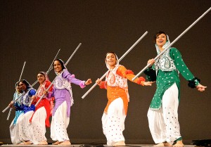 UConn Husky Bhangra performs at Asian Nite 2012 on Feb. 25. (Max Sinton/UConn Photo)