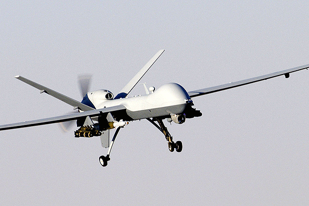 A MQ-9 Reaper unmanned aerial vehicle. (Wikipedia.org)
