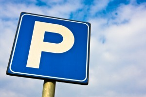 Parking sign (Shutterstock)
