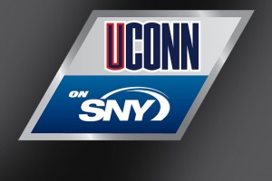 UConn on SNY Logo