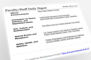 The new look Daily Digest email.