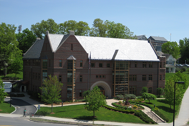 The University of Connecticut Foundation on the Storrs campus.