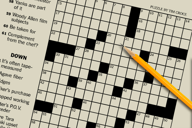 Tim Croce crossword