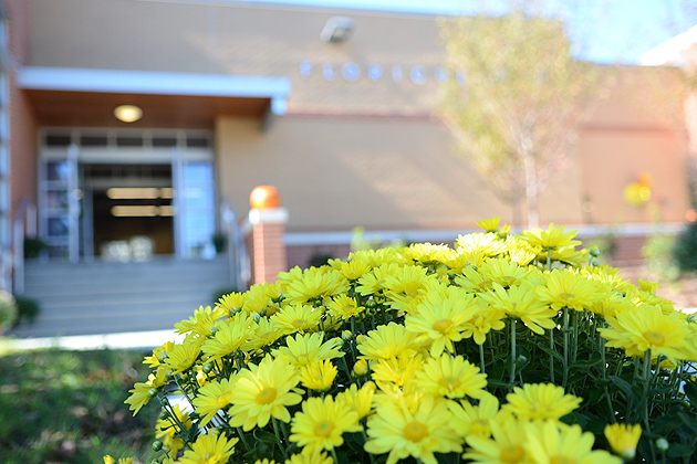 The Floriculture Building. (Ariel Dowski '14 (CLAS)/UConn Photo)