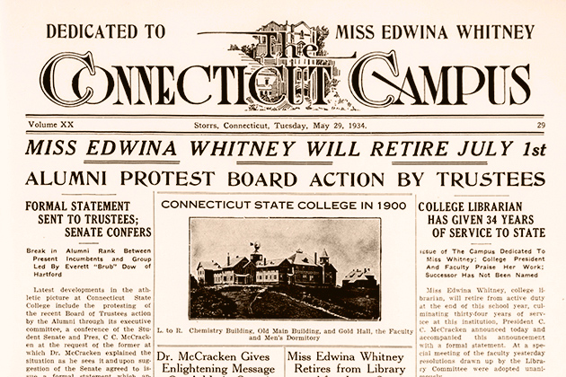 Student newspaper digitized cover from May 24, 1934.