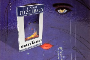 "A still life photo of the book ""The Great Gatsby"" by F. Scott Fitzgertald. (Peter Morenus/UConn Photo)"