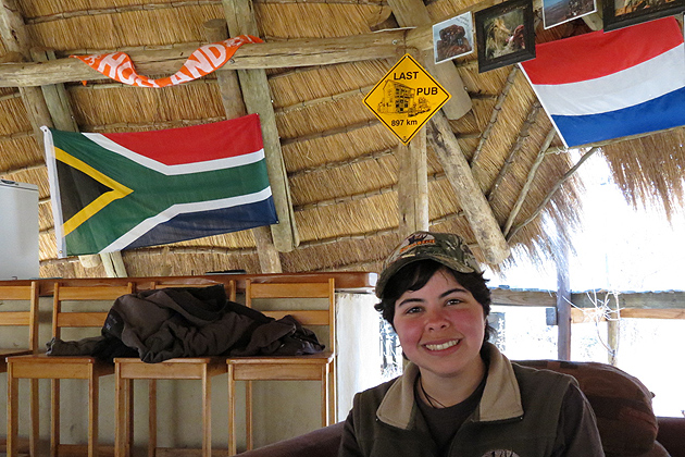 Aileen Leask '12 (CLAS) (Lee Gutteridge/Entabeni Game Reserve Photo)