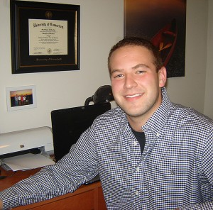 Scott McCarthy is studying the link between obesity and academic achievement. (Neag School of Education photo)