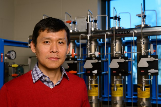 Alfredo Angeles-Boza, assistant professor of chemistry. (Peter Morenus/UConn Photo)
