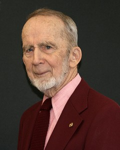 Professor emeritus Francis R. Trainor (Virge Kask/UConn Photo)