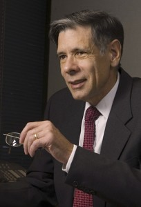 Dr. Frank Torti, vice president for health affairs and den of the School of Medicine.