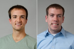 Kyle Hope '13 (ENG & CLAS) and Brian Osborn '13 (ENG & CLAS)