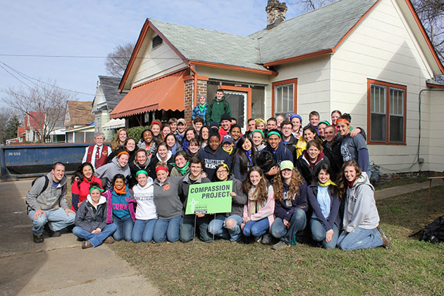 The Compassion Project is one of UConn's Alternative Spring Break programs.