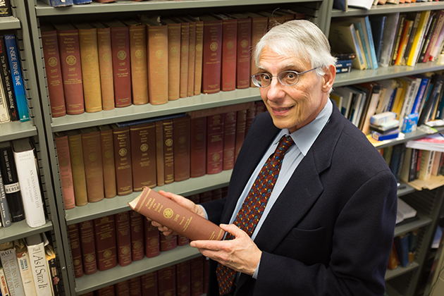 Frank Costigliola, professor of history and an authority on the Cold War, has edited the diaries of George Kennan, a key figure in 20th-century U.S.-Soviet relations. (Peter Morenus/UConn Photo)
