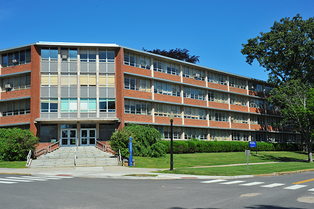 An exterior view of the Henry Ruthven Monteith Building.