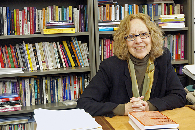 Nancy Naples, a professor of sociology, does research on sexual citizenship and human rights. (UConn photo / Peter Morenus)