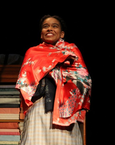"Khetanya Henderson '14 MFA as Esther Mills in ""Intimate Apparel."" (Courtesy of CRT)"