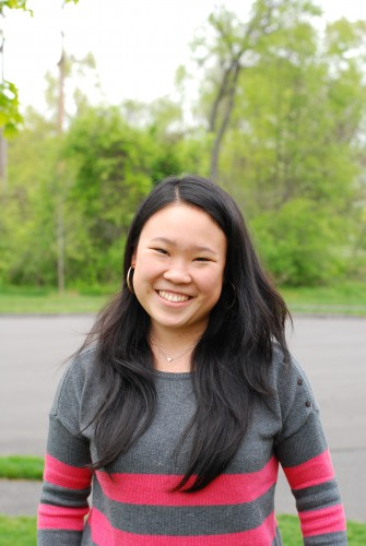 Julianna Lau '14 (CLAS), an Honors graduate in biological sciences.