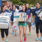 Thousands of students will be returning to UConn campuses across the state over the coming few days, in preparation for the start of classes on Aug. 28. (Sean Flynn/UConn File Photo)