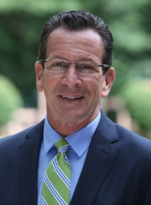 A headshot of Democratic candidate Gov. Dannel P. Malloy.