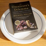 The UConn Reads 2014-15 book selection, the Omnivore's Dilemma by Michael Pollan. (Sean Flynn/UConn Photo)