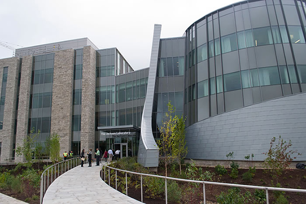 The Jackson Laboratory for Genomic Medicine, Oct. 2, 2014. (Tina Encarnacion/UConn Health Photo)