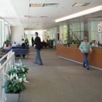 A reception area for patients at UConn Health. (Lanny Nagler for UConn)