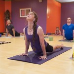 Psychology professor Crystal Park at her yoga studio in Mystic. (Sean Flynn/UConn Photo)