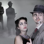 Julia Rose Estrada '15 (SFA) and James Jelkin '14 MFA star in Band of the Black Hand at Connecticut Repertory Theatre (March 26 - April 4). (Gerry Goodstein for UConn)