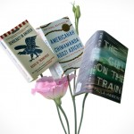 A bouquet of books. (Sean Flynn/UConn Photo)