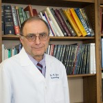 Dr. Kamran Safavi, professor and chair, Division of Endodontology at UConn Health. (Tina Encarnacion/UConn Health Photo)