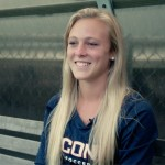 Rachel Hill, women's soccer. (Bret Eckhardt/UConn Photo)