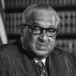 U.S. Supreme Court Justice Thurgood Marshall in 1976. (Library of Congress)