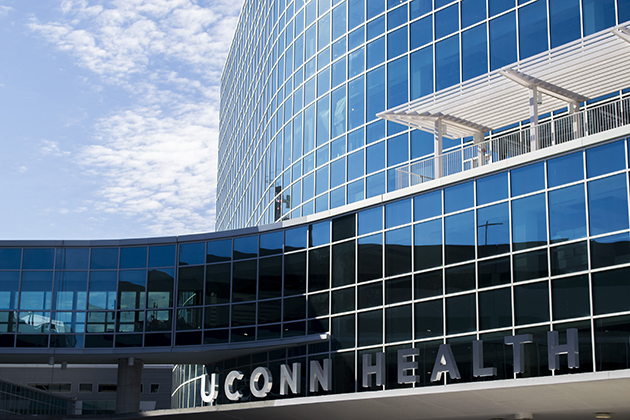 UConn Health's Outpatient Pavilion, which opened in 2015. (Tina Encarnacion/UConn Health Photo)